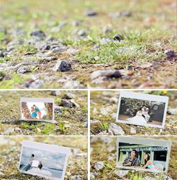 清新婚礼校园毕业照画中画效果电子相册幻灯片
