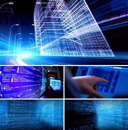 现代化智能大数据时代互联网发展科技研发传输企业高清视频实拍