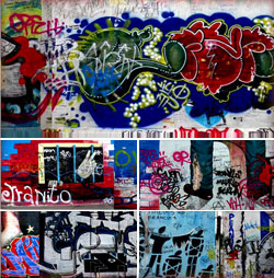 艺术涂鸦墙艺术街区涂鸦艺术时尚涂鸦背景